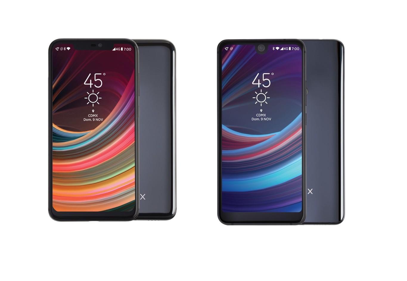 Lanix presenta su nueva serie de celulares mexicanos Illium