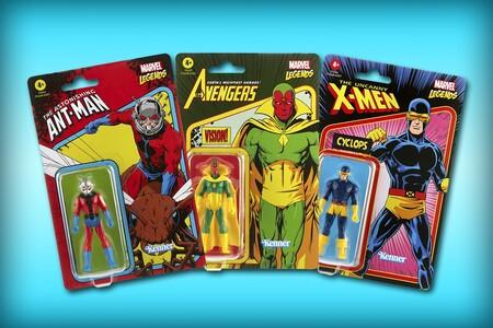 Las increíbles figuras retro de Marvel Legends están disponibles en Amazon México por 261 pesos o menos y envío gratis con Prime
