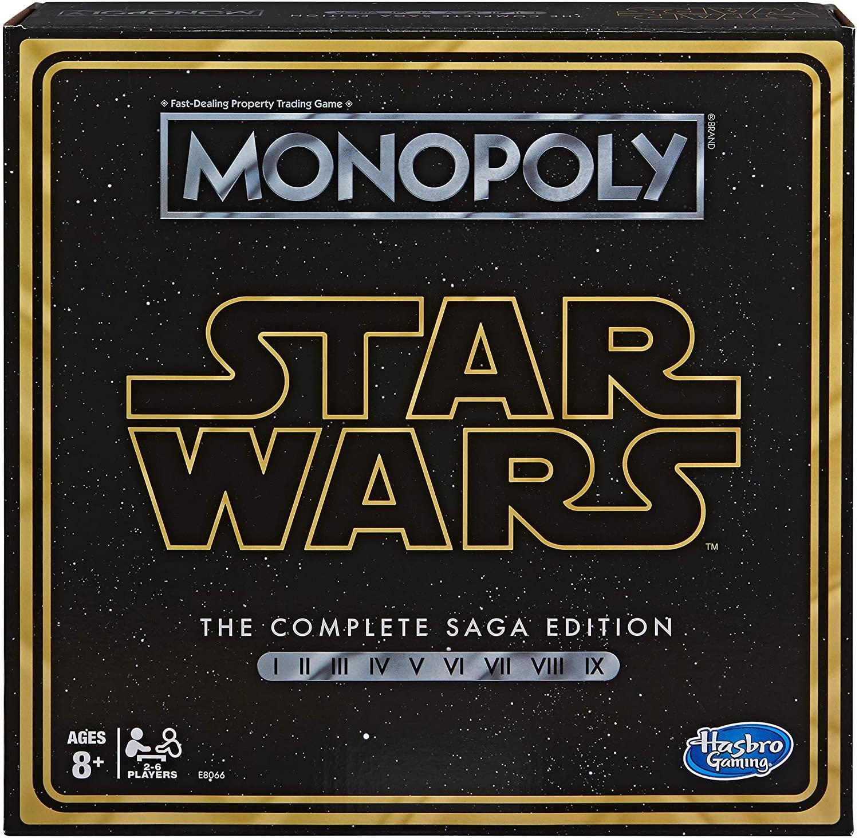 Hasbro Gaming - Monopoly Star Wars: The Complete Saga