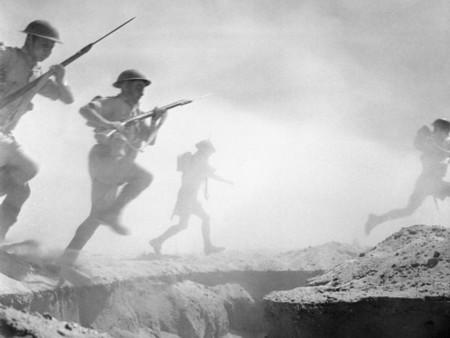 Infantería británica, El Alamein, 1942