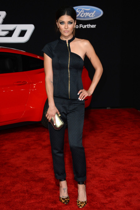 Need for Speed Los Angeles premiere Jessica Szohr Bela Criacao