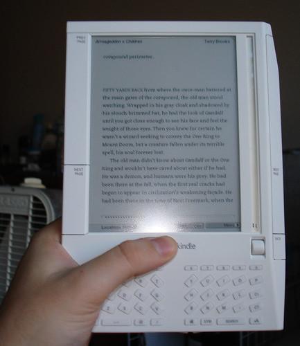 Imagen de la semana: Amazon Kindle
