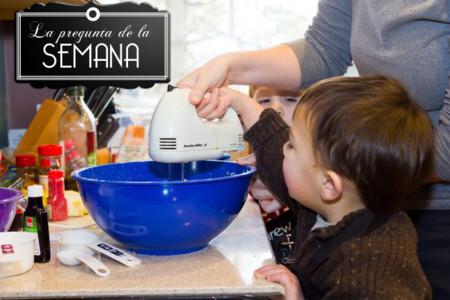 ¿Alguna vez habéis cocinado con niños? La pregunta de la semana