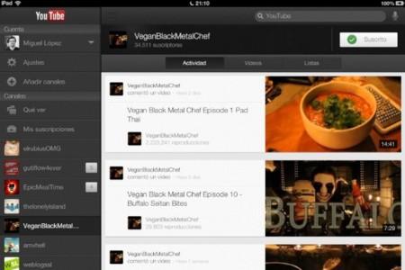 Las retransmisiones en directo llegan a Youtube para iOS con su última actualización