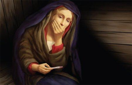 El día que la Virgen María se dio cuenta de que estaba embarazada