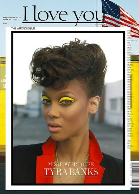 I love you Magazine sube el color del invierno con Tyra Banks