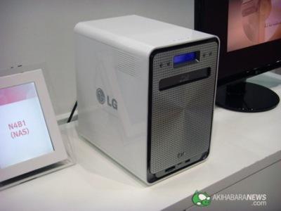 LG N4BA, NAS con grabadora Blu-ray