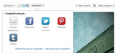 Flickr permite compartir a Pinterest manteniendo el crédito de la imagen