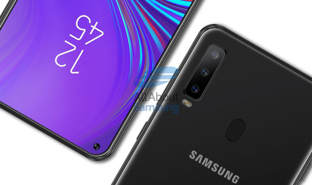 The Galaxy A8s will be the first mobile of Samsung without jack for headphones, according to a leak