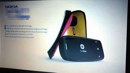 Imagen del supuesto primer Nokia Lumia con tecnología PureView