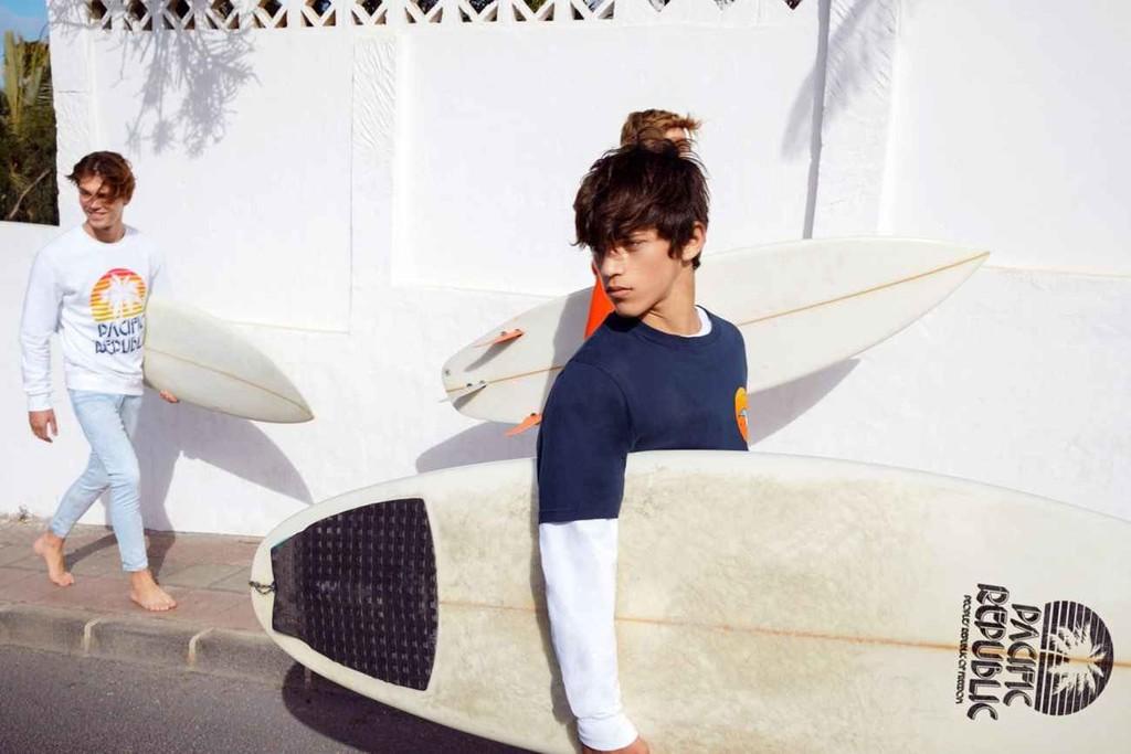 La Escena Surf De California Inspira Pacific Republic La Propuesta Colorida De Pull Bear 14