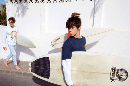La Escena Surf De California Inspira Pacific Republic La Propuesta Colorida De Pull Bear 14