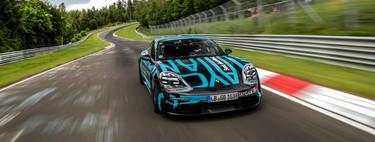 Porsche Taycan establece nueva cifra en Nürburgring-Nordschleife