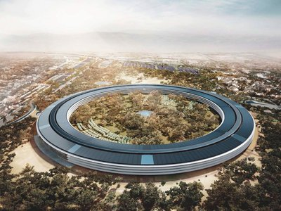 La nueva misión de Apple: patentar y conseguir que el anillo del Apple Park sea icónico