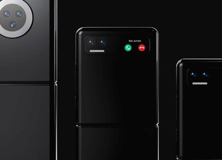 Así de espectacular luce el nuevo Xiaomi Mi Mix Flip en sus últimos renders llegados desde China