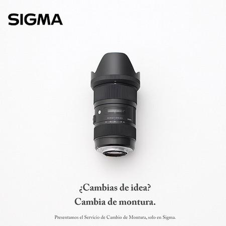 Sigma lanza un nuevo servicio de cambio de montura para objetivos