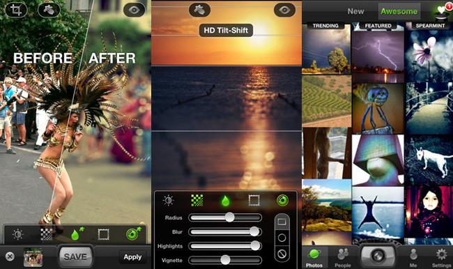 Redes sociales de fotografía - tadaa