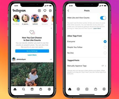 Esconder Likes Instagram