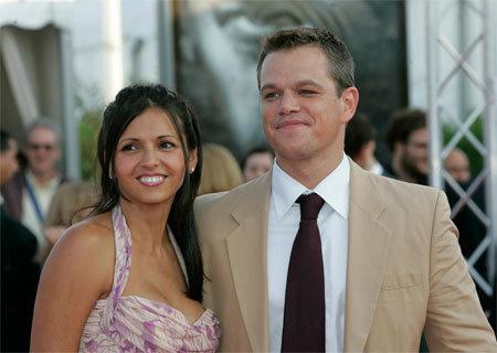 Matt Damon da la bienvenida a su nueva hija