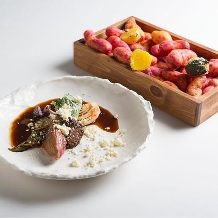 Pichon Yuca Brava Aove Kimchi De Ayuyo Y Aji Limo Oyuco A La Sal C Luma