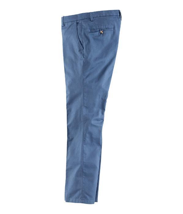 Pantalones chinos azul Primavera 2013