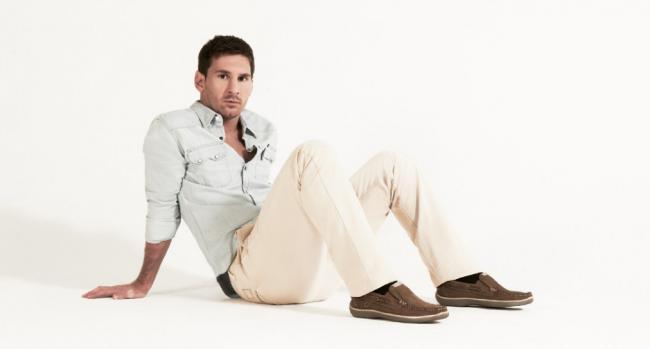 Leo Messi para Stork Man