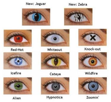 Cuidado con las lentillas cosméticas de los disfraces