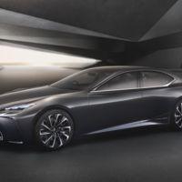 Lexus LF-FC flagship concept, brinda unas clases de cómo debe ser un sedán premium con carácter gran turismo