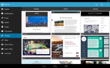 WordPress actualiza a la versión 3.5 y obtiene su dotación de Material Design