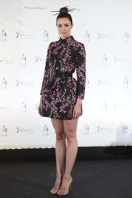 Dafne Fernández rescata el look japonés, una tendencia que creíamos pasada y con la que ha triunfado
