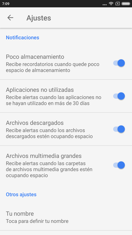Files Go Liberar Espacio Android