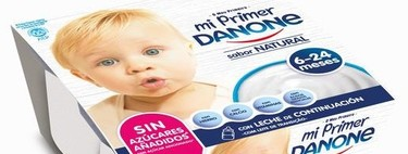 Once productos de alimentación infantil que llevan el sello de la AEP
