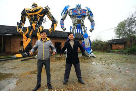 Bricopasión™: Móntate unos Transformers con piezas de desguace... y ya tienes negocio