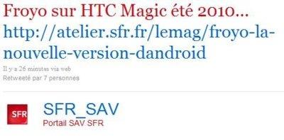 HTC Magic y Nexus One también podrían recibir Android 2.2 Froyo este verano