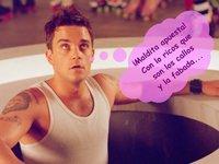 Robbie Williams, qué fue primero: ¿la dieta o la apuesta?