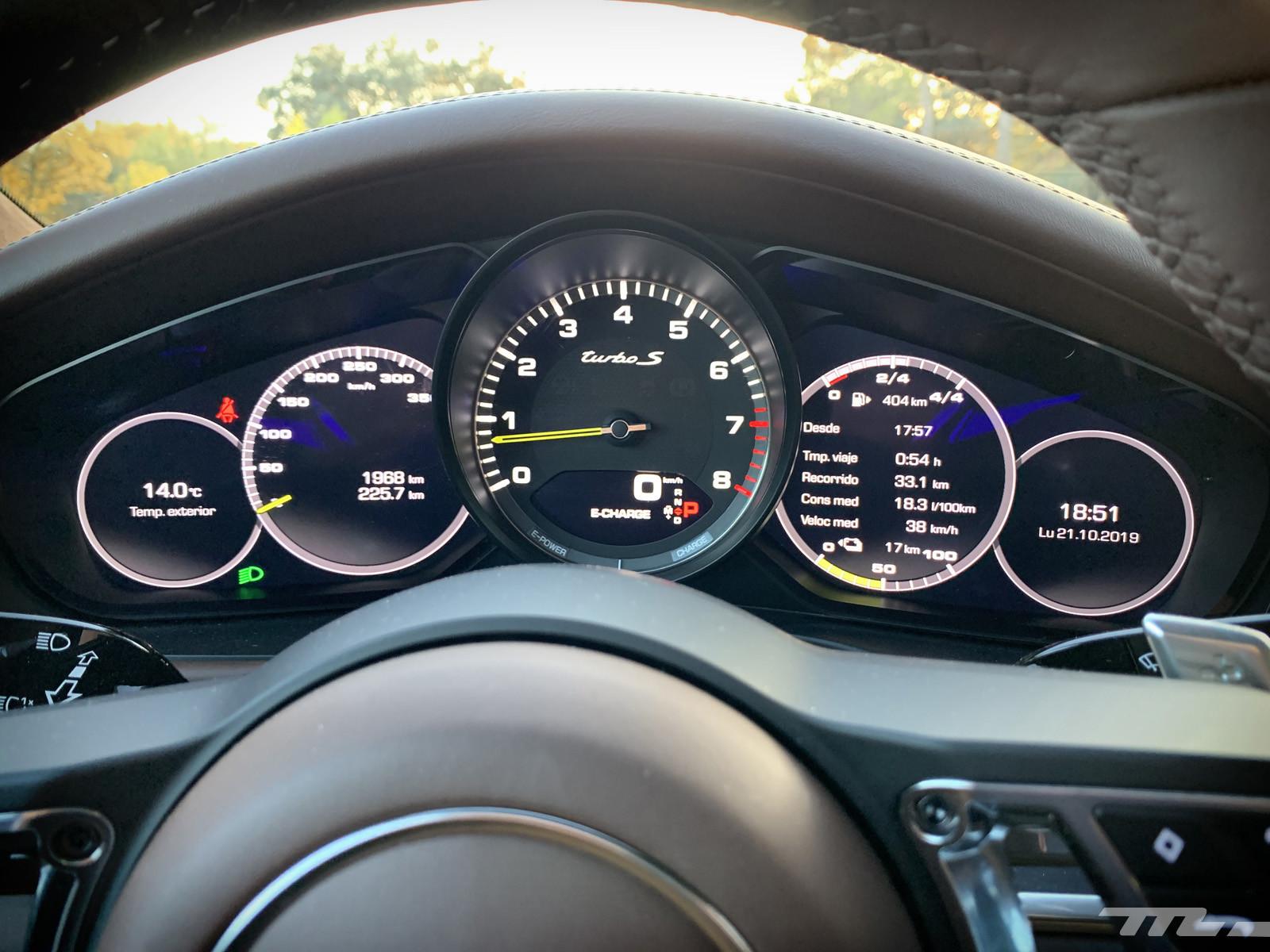 Foto de Porsche Panamera Turbo S E-Hybrid (prueba) (8/43)