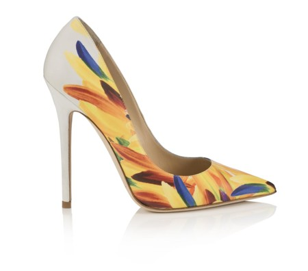 Anouk Feather Printed Leather Multi