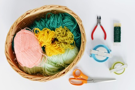 Materials For Pom Pom Basket