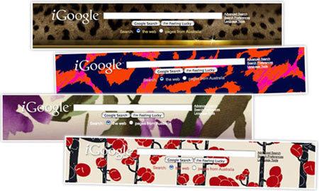 Los diseñadores personalizan Google