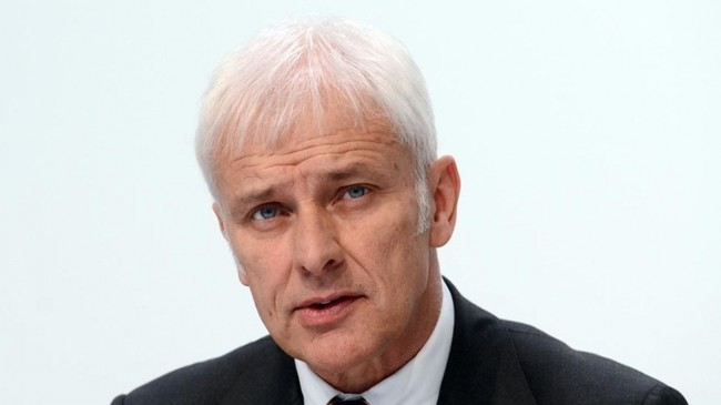 Matthias Muller Ceo Grupo Volkswagen