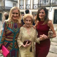 El vestido de invitada de Cristina Cifuentes ha sorprendido a todos, es de Asos y cuesta menos de 100 euros