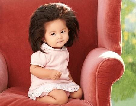 La nueva embajadora de Pantene solo tiene 12 meses, pero ese pelazo representa a la firma