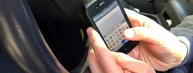 La DGT plagia a Inglaterra y utilizará camiones para combatir el uso del teléfono móvil al volante