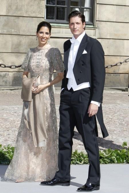Luis Medina, ese ¿representante español? en la boda de Magdalena de Suecia