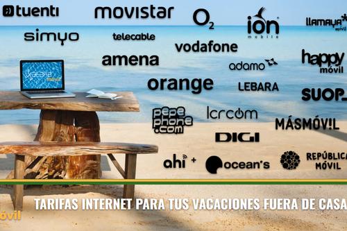 Qué ofrecen los operadores para llevarte internet en vacaciones o a tu segunda residencia