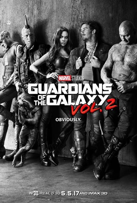 Cartel de Guardianes De La Galaxia 2