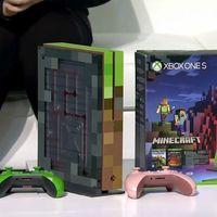 Xbox One S tendrá su propia edición personalizada dedicada a Minecraft [GC 2017]