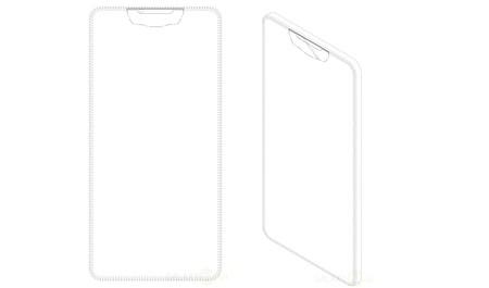 La carrera por reducir marcos acaba de empezar: una  patente muestra un Galaxy S9 con pantalla hasta el borde