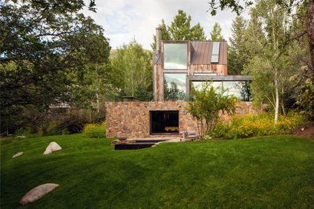 Una casa camuflada en Aspen (Colorado)