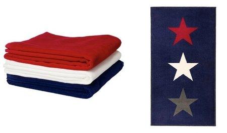alfombra toallas